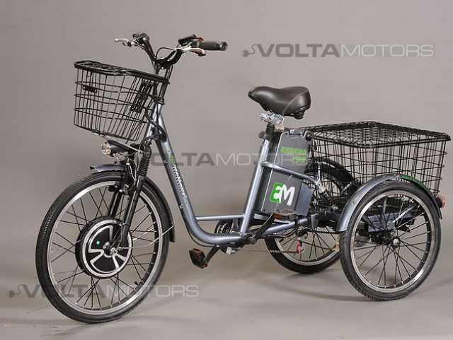 Продам Электрический трехколесный велосипед