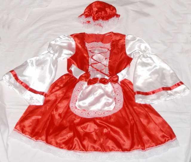 Продам Маскарадный костюм красной шапочки