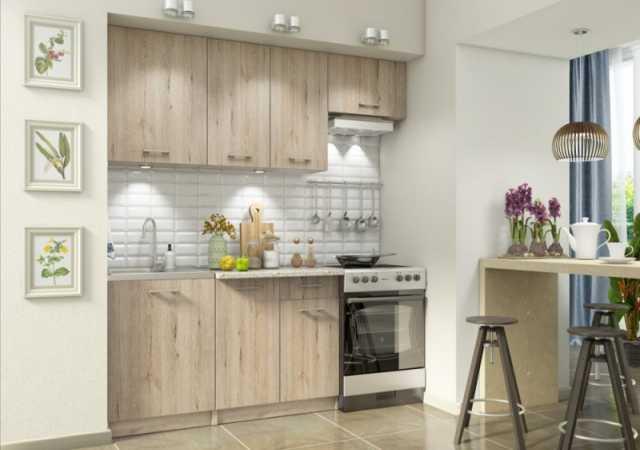 Продам: Бланка СТЛ.20800 Кухонный гарнитур Белый