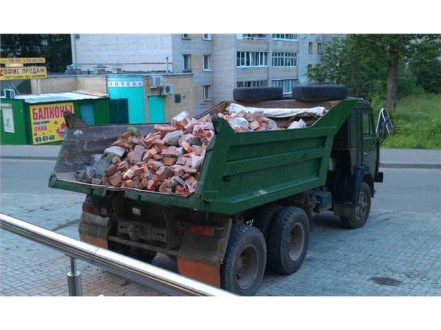 Предложение: Вывоз мусора. Все районы. Любой транспор