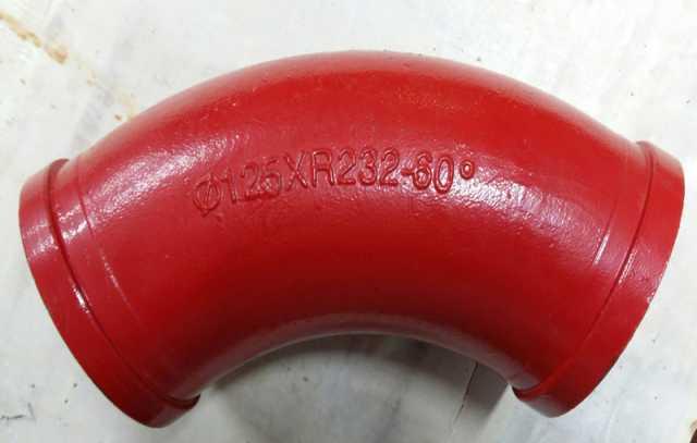 Продам:  Угол DN125*R232*60*