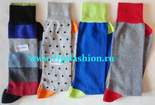 Предложение: Яркие цветные итальянские носки оптом