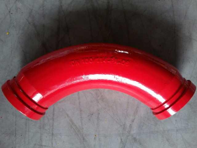 Продам Угол бетоновода DN125*R375*90*