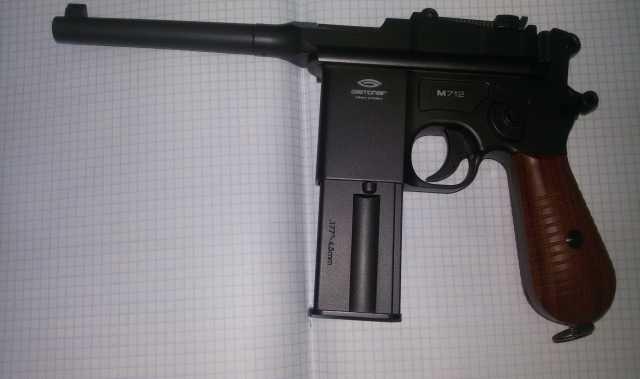 Продам Пневматику МАУЗЕР Gletcher M712