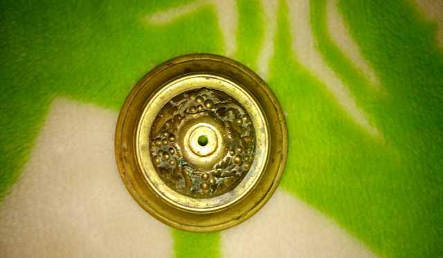 Продам Старинная круглая деталь бронза