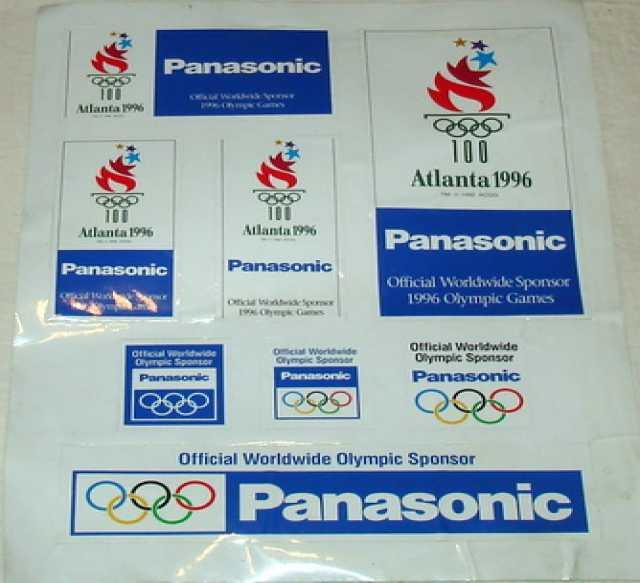 Продам Наклейки Олимпиада 1996г. Атланта
