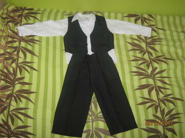 Продам Рубашка, брюки и жилет (комплект)