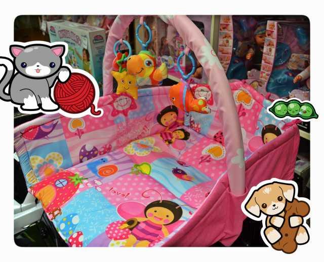 Продам Новый детский развивающий коврик