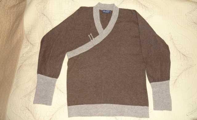 Продам Пуловер мужской, новый из шерсти яка