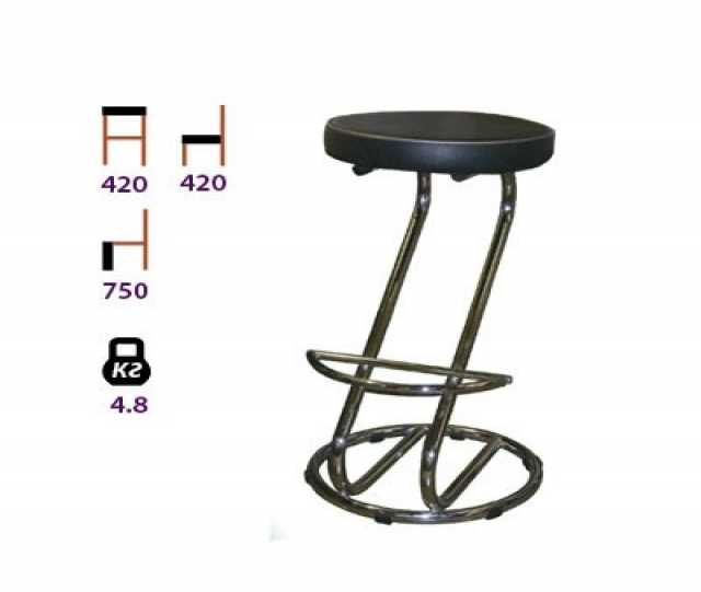 Продам Барные стулья на металлокаркасе .