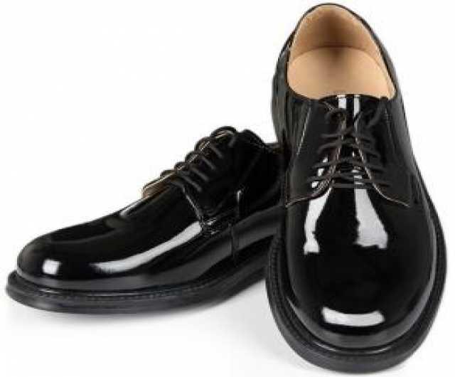 Продам Туфли армейские лакированные