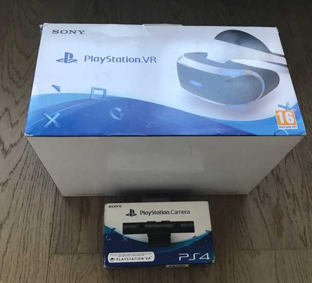 Продам Шлем виртуальной реальности Playstation
