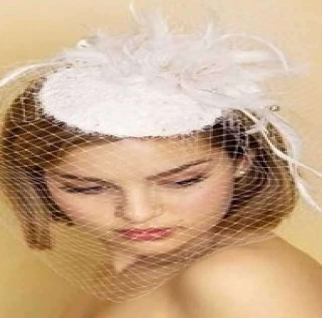 Продам свадебную шляпку