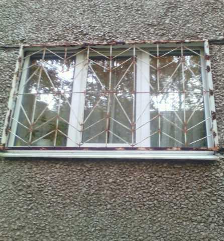 Продам: металлические решетки на окна 3