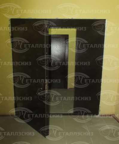Продам: Дверь в тамбур с молотковой покраской
