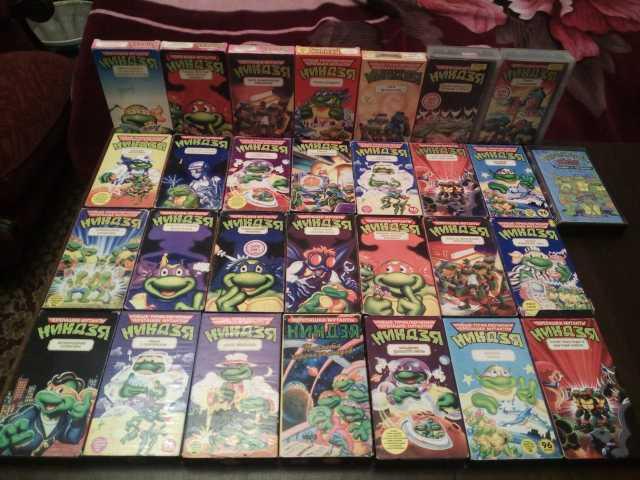 Продам Видеокассеты Лицензия VHS
