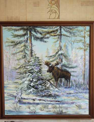 Продам картины с пейзажами разных времен года