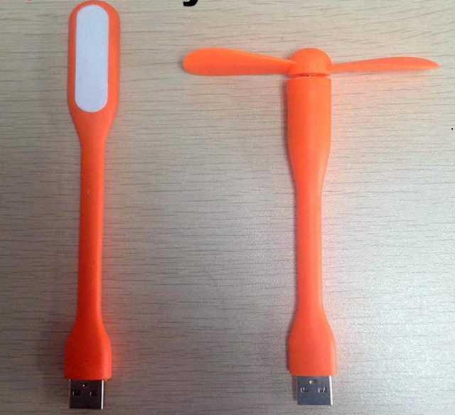 Продам комплект: мини винтилятор + LED лампа