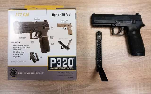 Продам Пневматический пистолет Sig Sauer P320