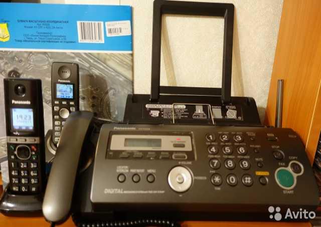 Продам Факс Panasonic KX-FC258RU