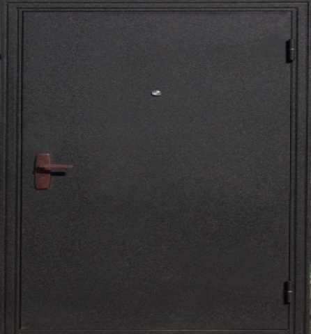 Продам: Дверь черный шелк металл/ хдф-панель