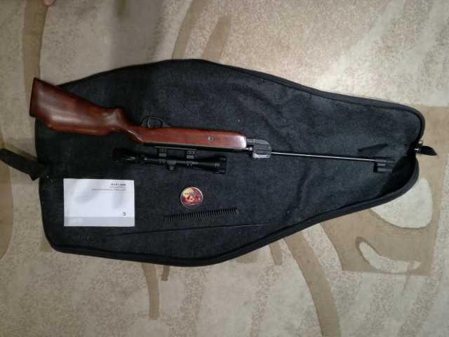 Продам Пневматическая винтовка Байкал МР-512