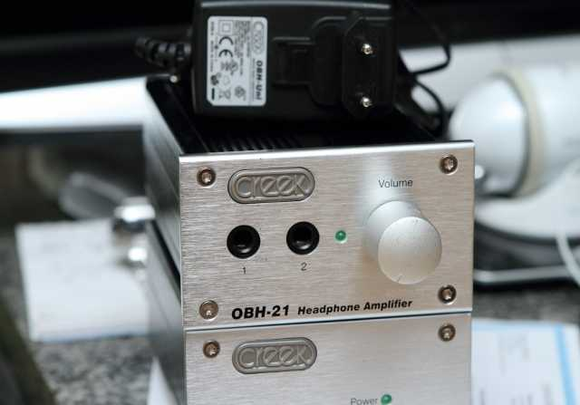 Продам усилитель для наушников Creek OBH-21