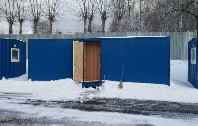 Продам: Блок-контейнер 8 м х 2,4 м х 2,5 м