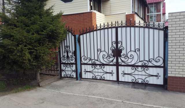 Продам Кованые ворота и калитки