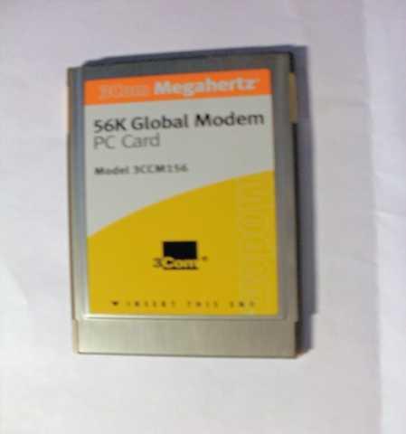 Продам Модем 3Com 56K PC Card для ноутбука