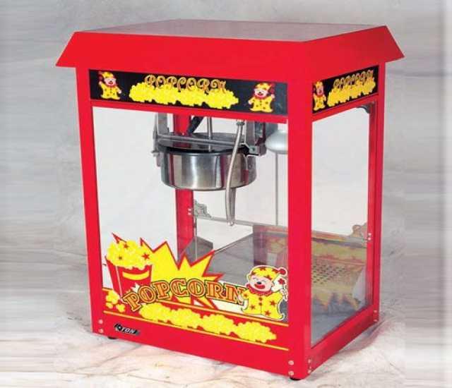 Продам Аппарат для попкорна Starfood ET-POP6A-R