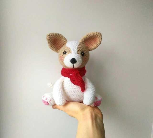 Продам Вязаный щенок чихуа-хуа