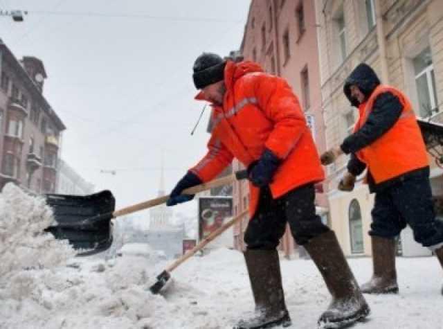 Предложение: Уборка снега, разнорабочие