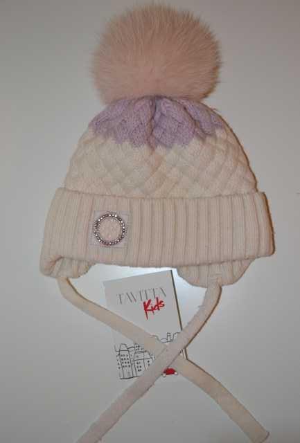 Продам Зимняя шапочка для девочки, 48-50 см