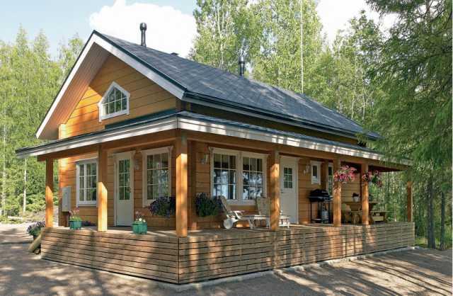 Предложение: Эконом дом из клееного бруса