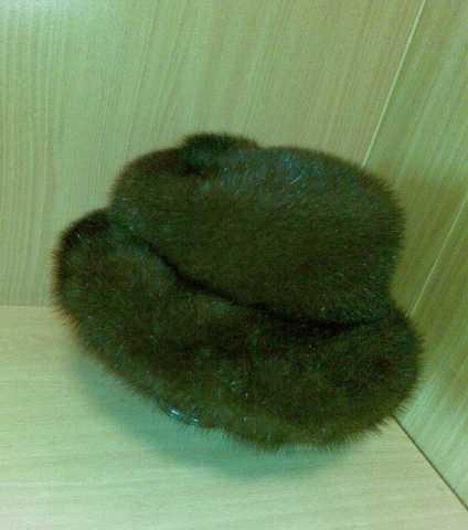 Продам Продается женская норковая шапка - шляпа