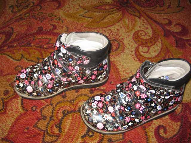 Продам ботинки для девочки р.29
