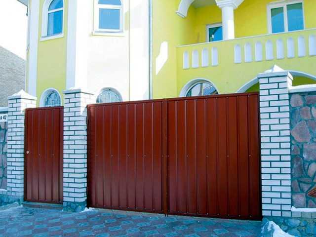 Продам Откатные ворота, гаражные ворота