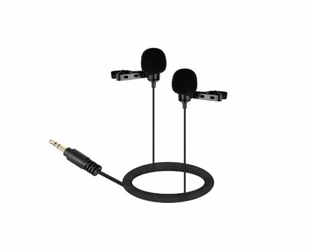 Продам Двойной петличный микрофон