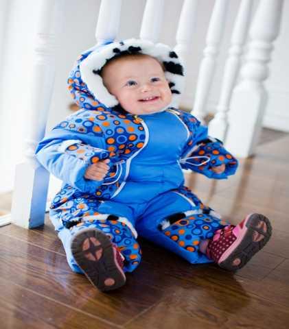Продам: Зимний комбинезон на малыша до 30 мороза
