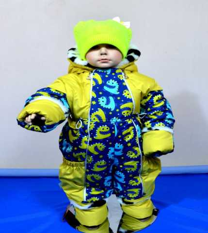 Продам Зимний комбинезон на малыша до 30 мороза