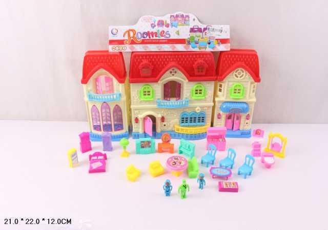 Продам Кукольный домик с мебелью, Roomies, № 16