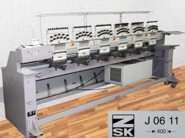 Продам вышивальная машина ZSK JF 0611-400