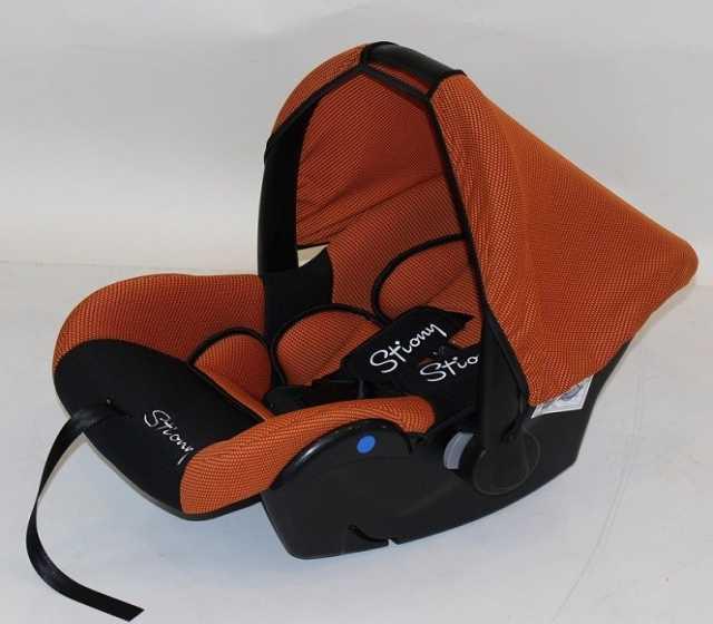 Продам Автокресло 321 (оранжевый) под заказ