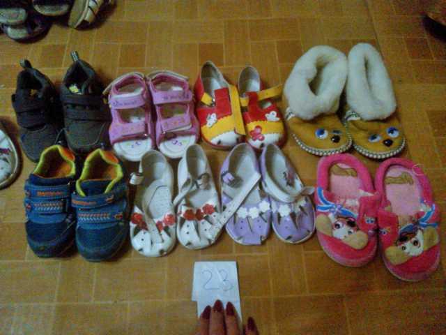 Продам сандали на девочку