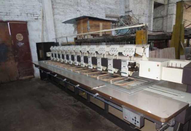 Продам вышивальная 12-головочная ZSK 174-12