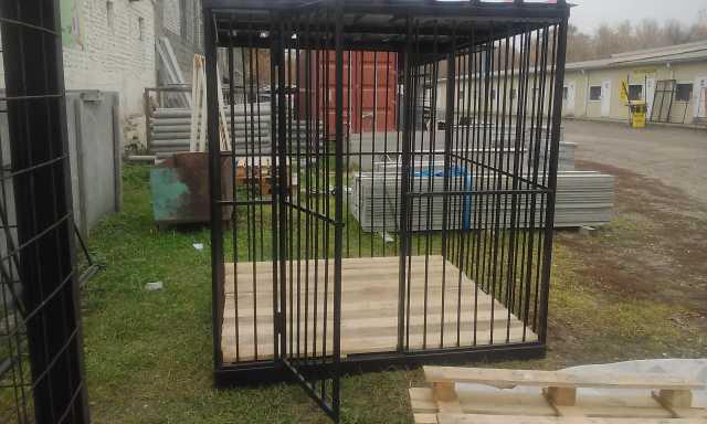 Продам Вольеры для собак на металлокаркасе дост