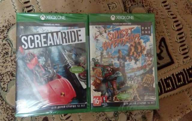 Продам Игры Xbox One Screamride,SunsetOverdrive