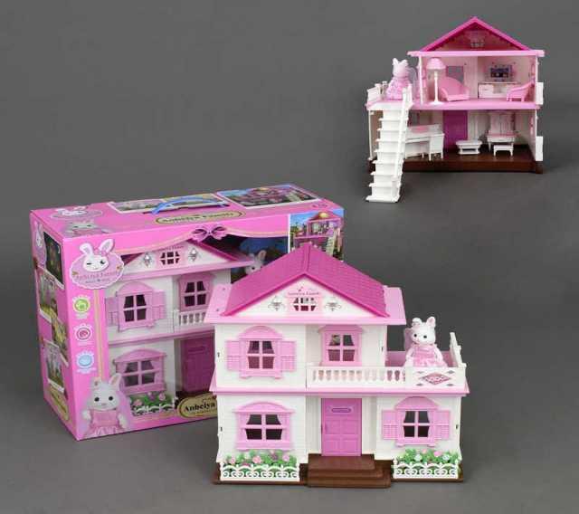 Продам Кукольный домик с мебелью, Anbeiya family, 1514A