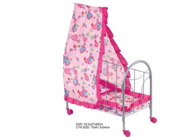 Продам Кукольная кроватка с навесом, № FL989-4